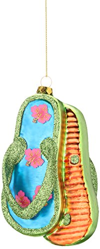 Department 56 Gone to the Beach Coast Flip Flop Hanging Ornament