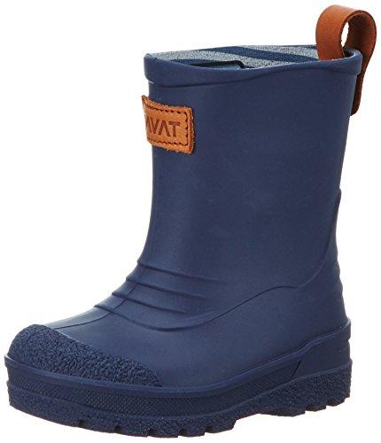 Kavat 1611562989220, Botas de Agua Infantil Azul (Blue)