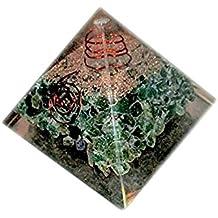 Real Gemstone Fine Quality Pyramids Metaphysical Orgonite Pyramids 50-55mm (Green Aventurine)