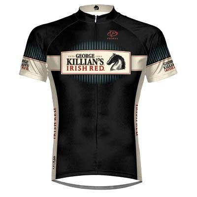 Primal Wear Men's Killian's Irish Red Short Sleeve Cycling Jersey - COKIJ20M (Killian's Irish Red - M)