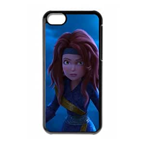 iPhone 5c Cell Phone Case Black Pirate Fairy D450190