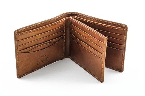 Tony Perotti Italian Leather Classic Bifold Multi Credit Card Wallet, Honey Bi-Fold Wallet, Honey by Luggage Depot USA, LLC