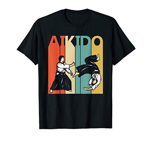 - Vintage Aikido T-shirt Gift - Aikido Martial Arts Tshirt