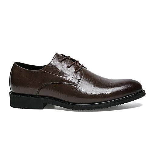 Nuovo Dimensione formali Semplice classico da Marrone Scarpe Xujw shoes stile Basse 41 stile 2018 Business Stringate EU Color Scarpe Oxford Casual Marrone uomo britannico ORpwvqSpTW