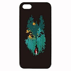 The Woods Belong To Me Durable Hard Unique Case For iPhone 5 5S - Black Case