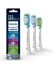 Philips Sonicare RFID Replacement Brush Heads Variety Pack - 1 Premium Plaque Control + 1 Premium Gum Care + 1 Premium White, White, 3 Pack, HX9073/65