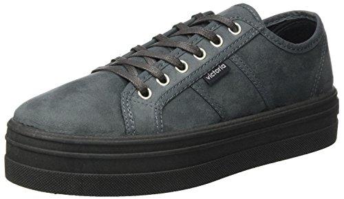 Donna Grigio Sneaker Plataforma Grigio Victoria Antelina Blucher xFYqwFgtI