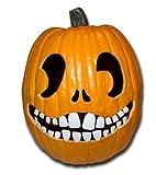 Halloween Pumpkin Carving Kit - Pumpkin Teeth for your Jack O' Lantern - Set of 18 White Buck Teeth