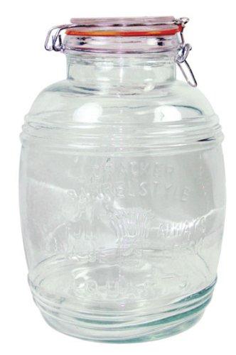 glass barrel jar - 4