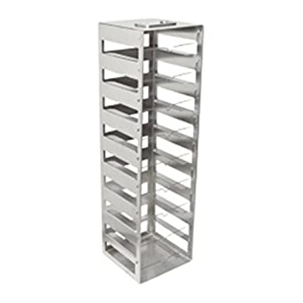 Amazon.com: Nalgene Acero Inoxidable Vertical cryobox rack ...