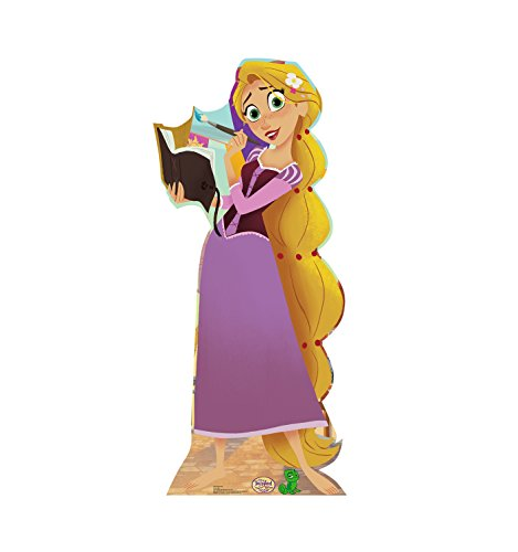 Advanced Graphics Rapunzel Life Size Cardboard Cutout Standup - Disney Channels Tangled: The Series