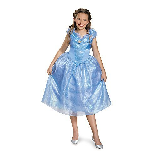 [Disguise Cinderella Movie Tween Costume, Large (10-12)] (Cinderella Costumes For Girl)