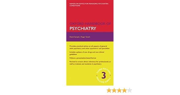 Oxford handbook of psychiatry oxford medical handbooks ebook oxford handbook of psychiatry oxford medical handbooks ebook david semple roger smyth amazon kindle store fandeluxe Gallery