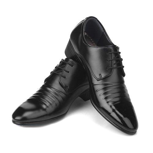 Nieuwe Heren Italiaanse Stijl Formele Casual Schoenen Zwart
