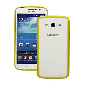 TPU PC Matte Protective Case for Samsung Galaxy G7106 Mimosa Yellow