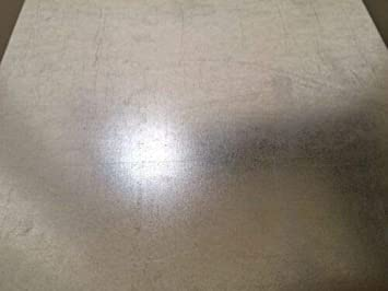 "10ga Galvanized Sheet Metal Plate 12/"" x 24/"""
