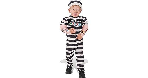 Amazon.com: Rubies Disfraz del Niño Lil prisionero disfraz ...