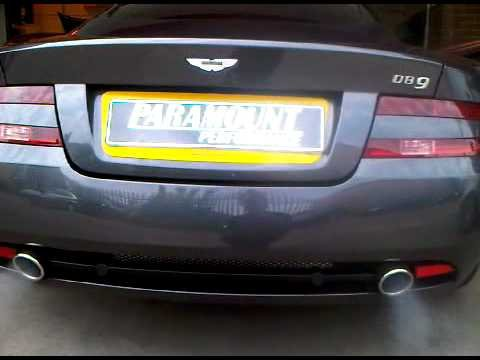 DB9 Exhaust System and DB9 Exhaust mufflers: