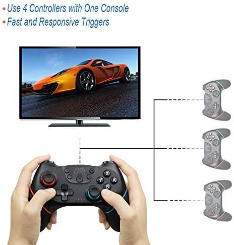 Draadloze Bluetooth Gamepad Game Joystick Switch Console Game-accessoires Met 6-assige Handle (Style: 6) SHIYUE