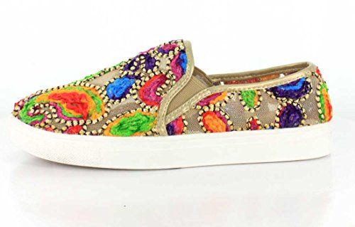 Voluto Donne Renoir Slip-on Gold