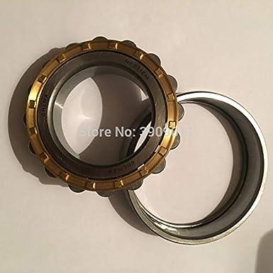 Fevas SHLNZB Bearing 1Pcs NF307 NF307E NF307M C3 NF307EM NF307ECM 358021mm Brass Cage Cylindrical Roller Bearings Color: NF307EM