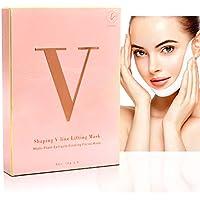 Latorice 5-Piece Adjustable V line Shaping Natural Face Mask