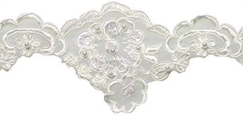 Wrights Bridal Lace, 3-Inch by 10-Yard, Ivory by Wright Products