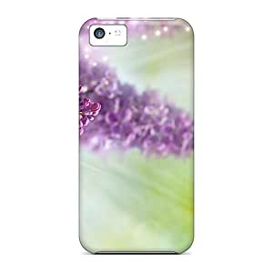 Fashion Protective Just Lilacs Case Cover For Iphone 5c