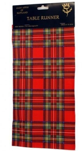 Royal Stewart U0026 Black Watch High Quality Airlaid Paper Tartan Table Runner  (Royal Stewart)