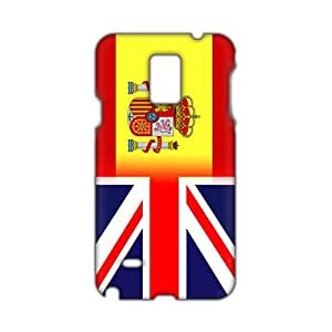 spania flagg 3D Phone Case for Samsung NOTE 4