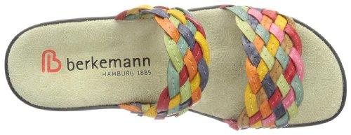 Berkemann Rimini Triest 2424 - Zuecos de cuero para mujer Rojo