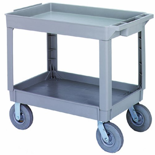 Continental 5805GY-PN, Grey Large Pneumatic Utility Cart (Case of 1)