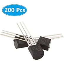 (200 Pcs) McIgIcM 2N2222 Transistor, 2N2222A to-92 Transistor NPN 40V 600mA 300MHz 625mW Through Hole