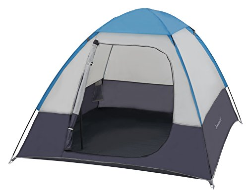 FINNKARE-2-Person-Tent-Camping-Instant-Tent-3-Season-with-Rain-Waterproof-Coating-Folding-Tent-Portable-Fiberglass-for-Outdoor-Activity-Camping-Hiking-Climbing-Backpacking-Double-People-GreyBlue