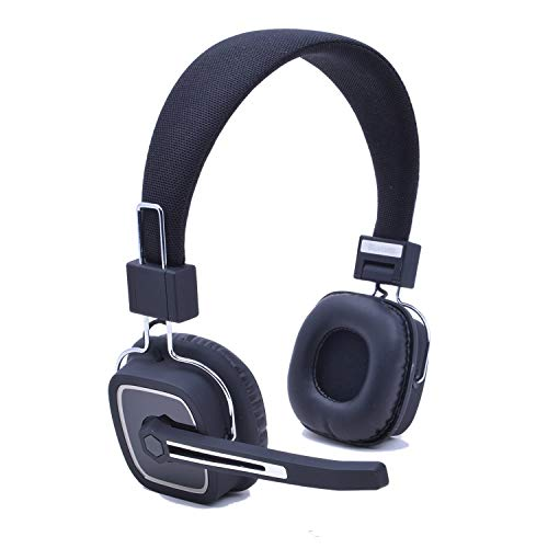 AY Wireless Headphones with Mic Over Ear Noise Canceling Sound Hands Free Calling for iPhone and Android Cell Phones ()