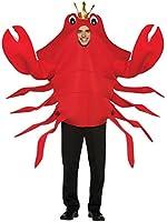 Rasta Imposta King Crab Costume Men's Adult Regular Size