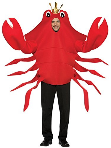 King Crab Adult Costumes (Rasta Imposta King Crab Costume Men's Adult Regular Size)