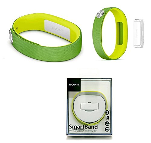 genuine sony smartband swr10 lifelog bluetooth body tracker nfc for android 4 4 green 2014 fifa world cup brazil edition
