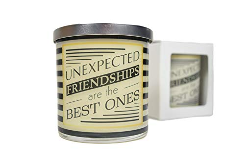 Unexpected Friendship Are The Best Ones Candle - Natural...