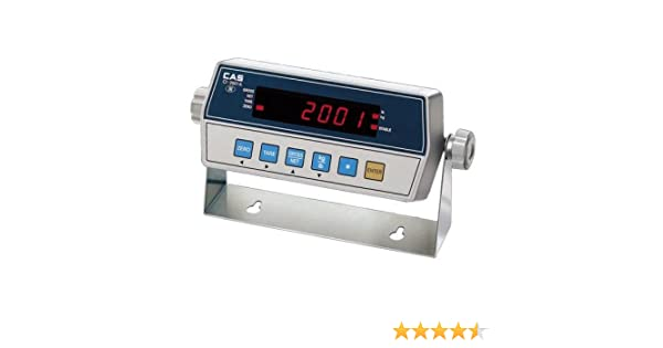 NEW CAS CI-2001A Digital Indicator  replacing floor scale readout,RS232,NTEP