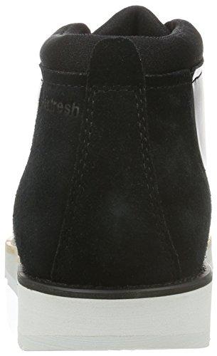 Boxfresh Irrigat Ch Lea/Sde, Sneaker Alte Uomo Schwarz (Black/Grey Violet)