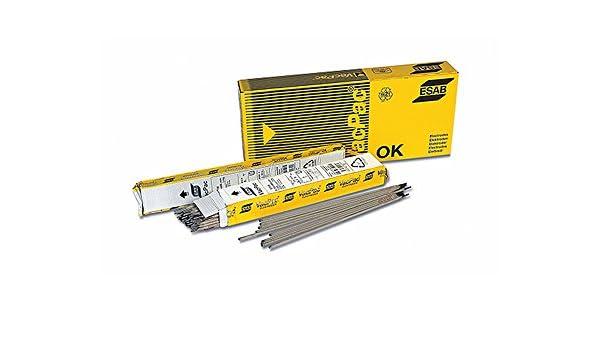 esab ok61.30 10PZ Electrodo inoxidable Bajo Carbono 2 x 300 mm soldadura de acero inoxidable estabilizado soldadura de 35/65 a verghette soldador: ...