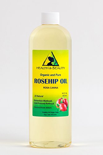 Rosehip Seed Oil Organic Refined Cold Pressed Premium 100% Pure 16 oz Review