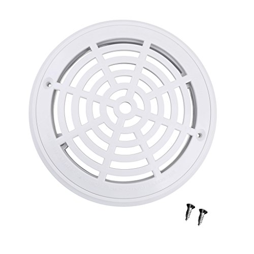 - Homyl White Main Drain Suction Cover Plate For In-Ground Swimming Pools