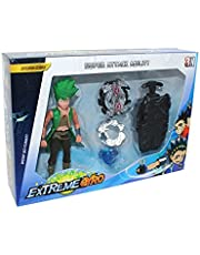 Extreme Gyro BeyBlade Bee Set for Boys - 5 Pieces
