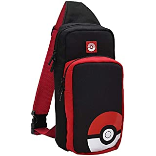 Nintendo Switch Adventure Pack (Poke Ball Edition) Travel Bag by HORI - Officially Licensed by Nintendo & Pokemon