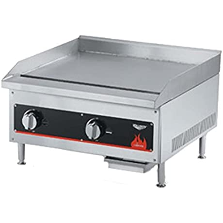 Vollrath 40719 18 Gas Flat Top Griddle Cayenne Series