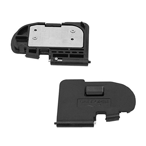 PhotoTrust Battery Door Cover Lid Cap Replacement Repair Part for Canon 5D Mark II DSLR Digital ()