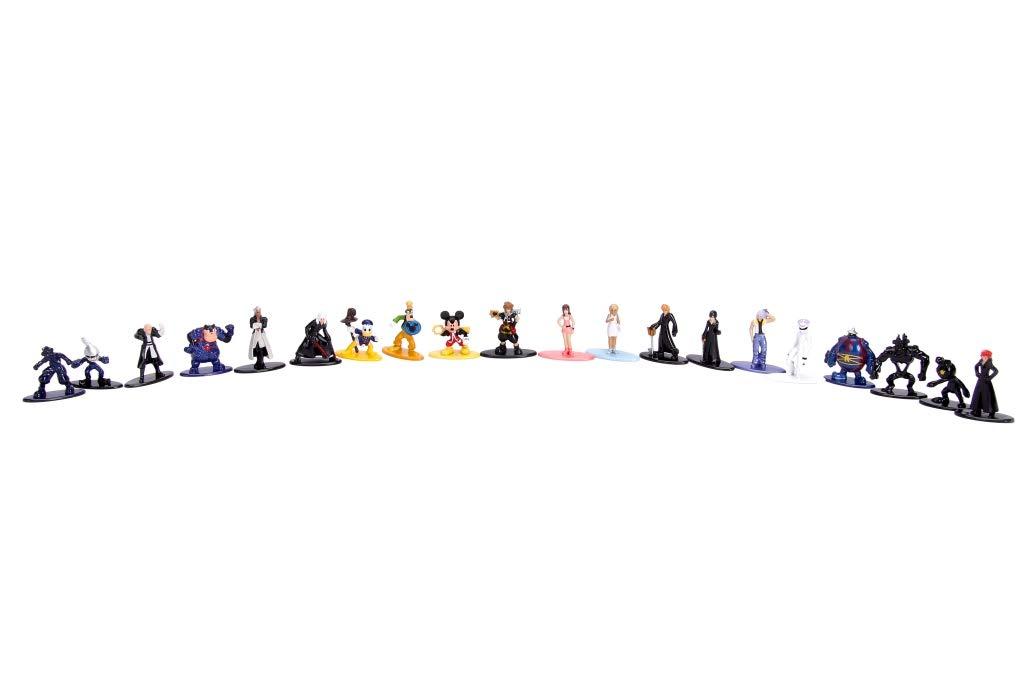 Kingdom Hearts Nano Metalfigs 20 Pack Die-Cast Mini-Figure Collection Jada