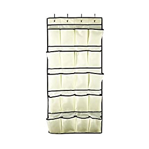 Rubbermaid Configurations Custom Closet Jumbo 20-Pocket Shoe Organizer, 3F20